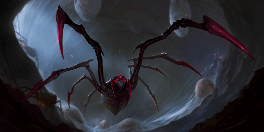 LoR Spiderling  Artwork