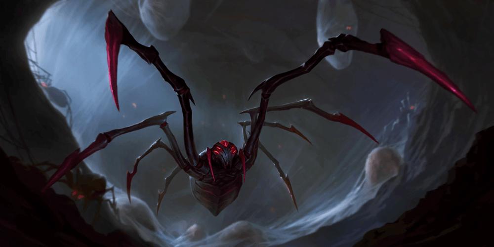 LoR Spiderling  Artwork