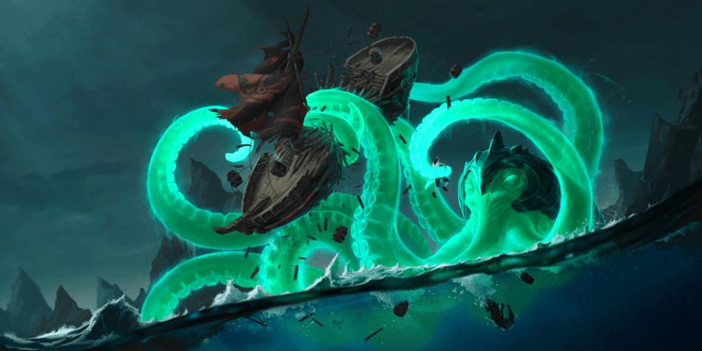 LoR Darkwater Scourge Artwork