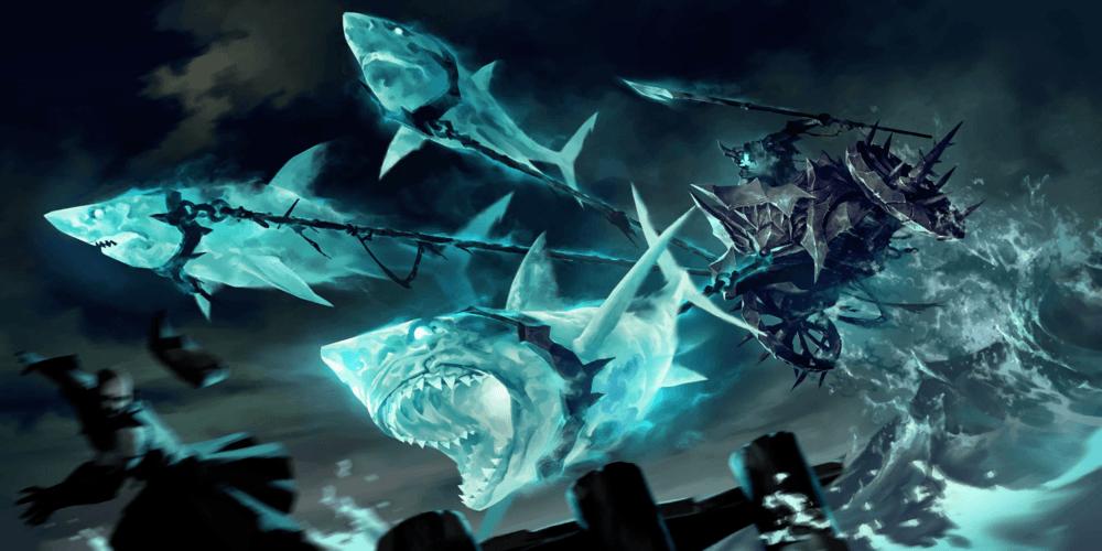 LoR Shark Chariot Artwork
