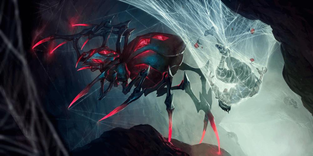 LoR Spider Queen Elise  Artwork