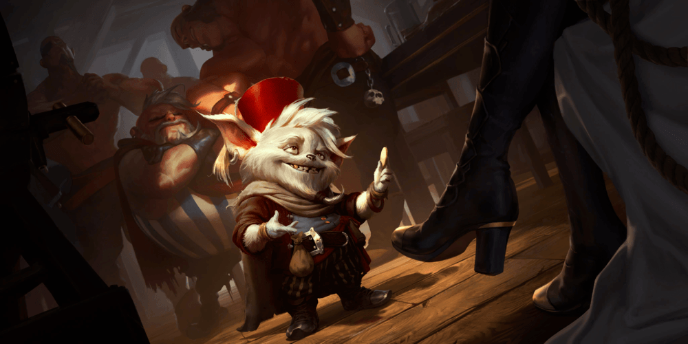 LoR Yordle Grifter Artwork
