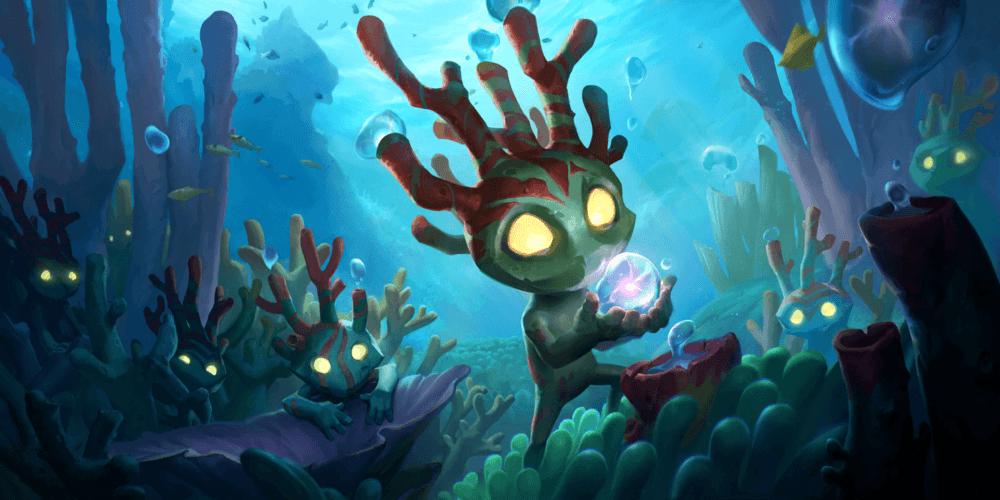 LoR Coral Creatures Artwork
