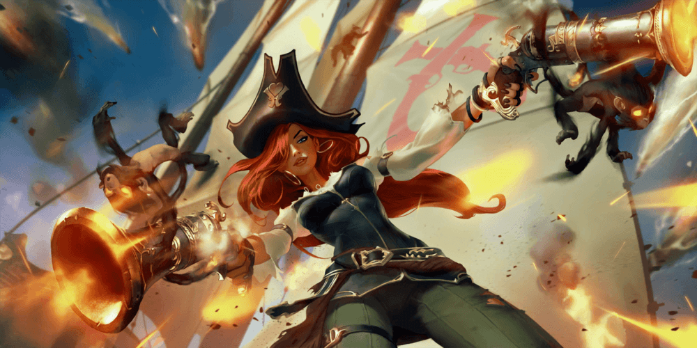 LoR Miss Fortune  2 Artwork