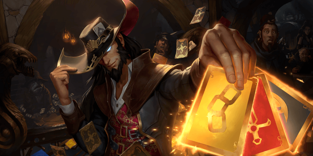 LoR Twisted Fate  2 Artwork