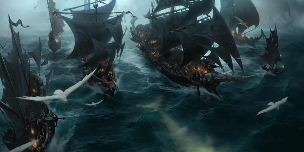 LoR Hunting Fleet Artwork