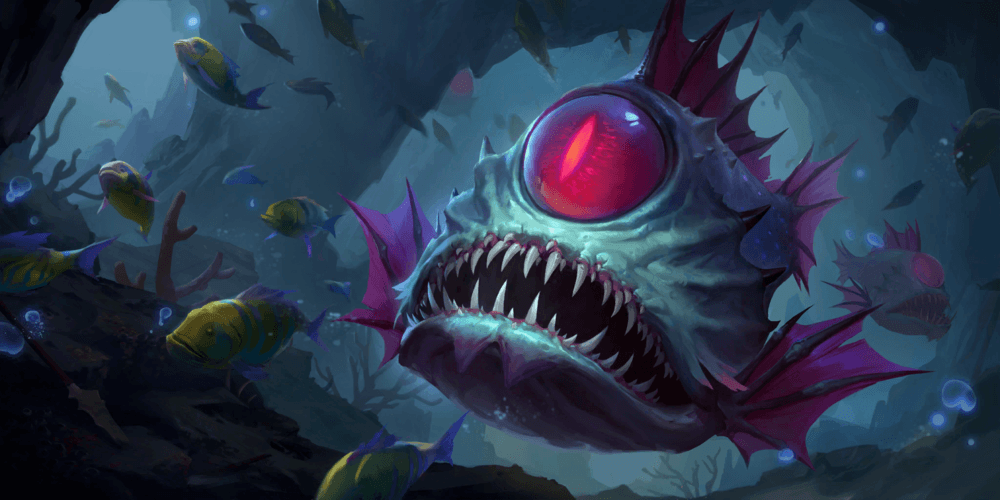 LoR Abyssal Eye Artwork