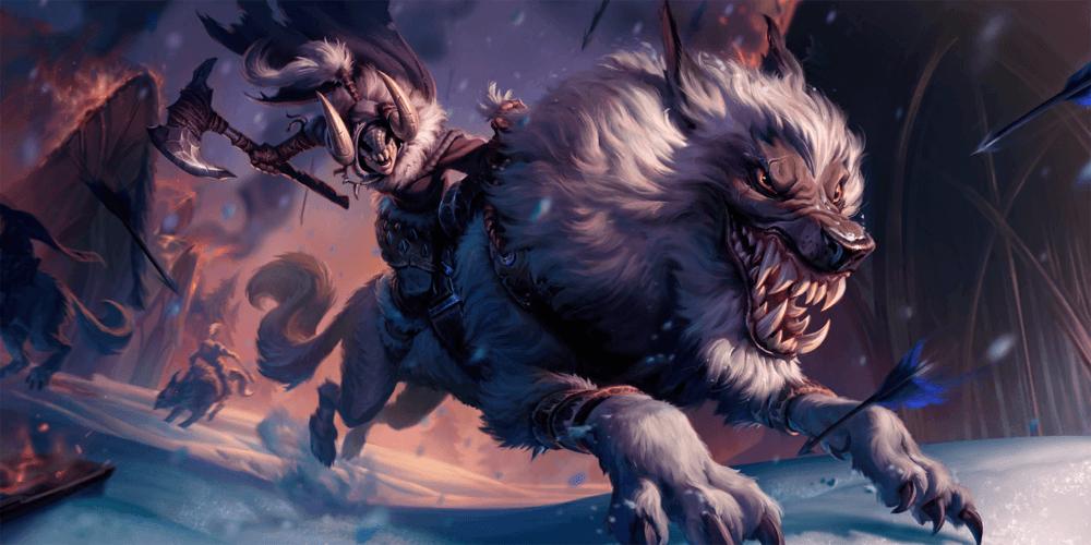 LoR Wolfrider Artwork
