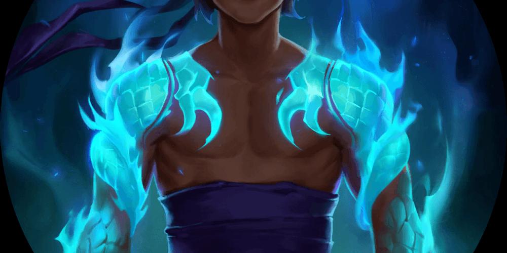 LoR Dragon's Protection  Artwork
