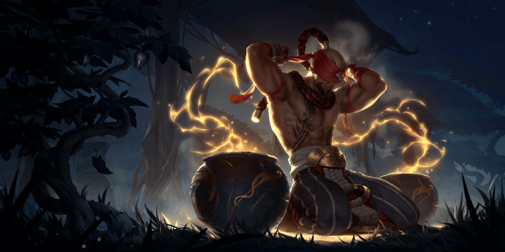 LoR Lee Sin Artwork