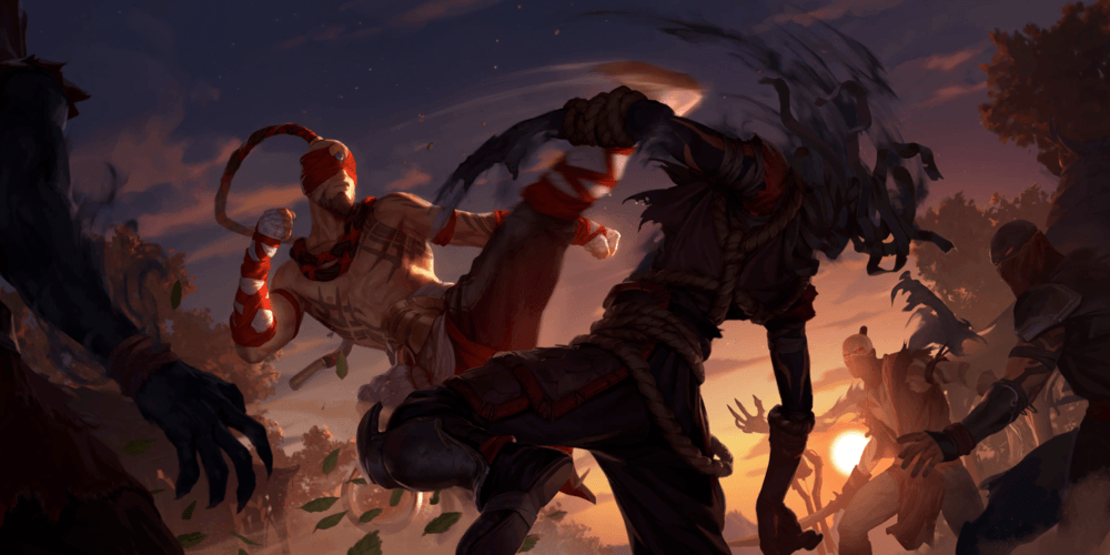 LoR Lee Sin  2 Artwork