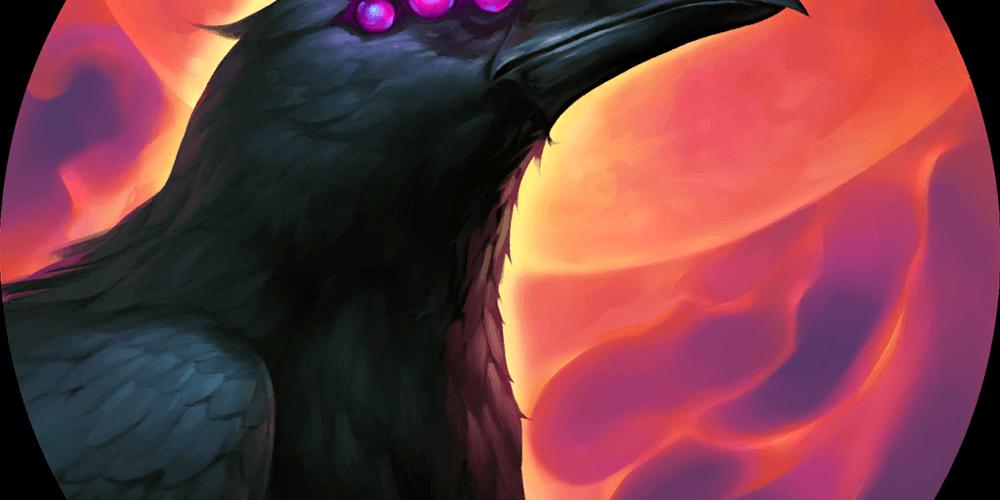 LoR Swain's Ravenous Flock  Artwork