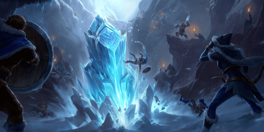 LoR Ice Pillar  Artwork