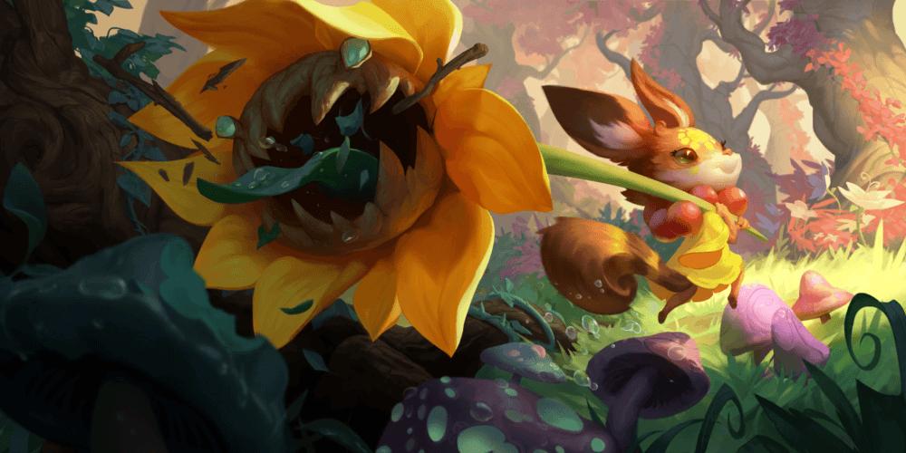 LoR Flower Child Artwork