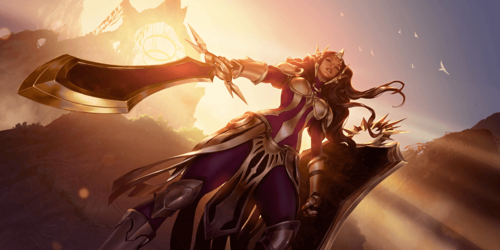 LoR Leona  2 Artwork