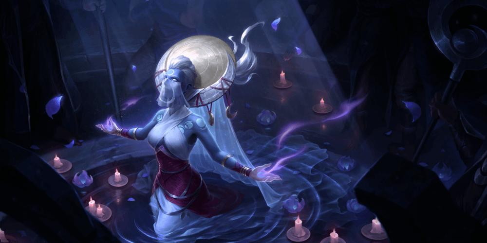 LoR Lunari Priestess Artwork