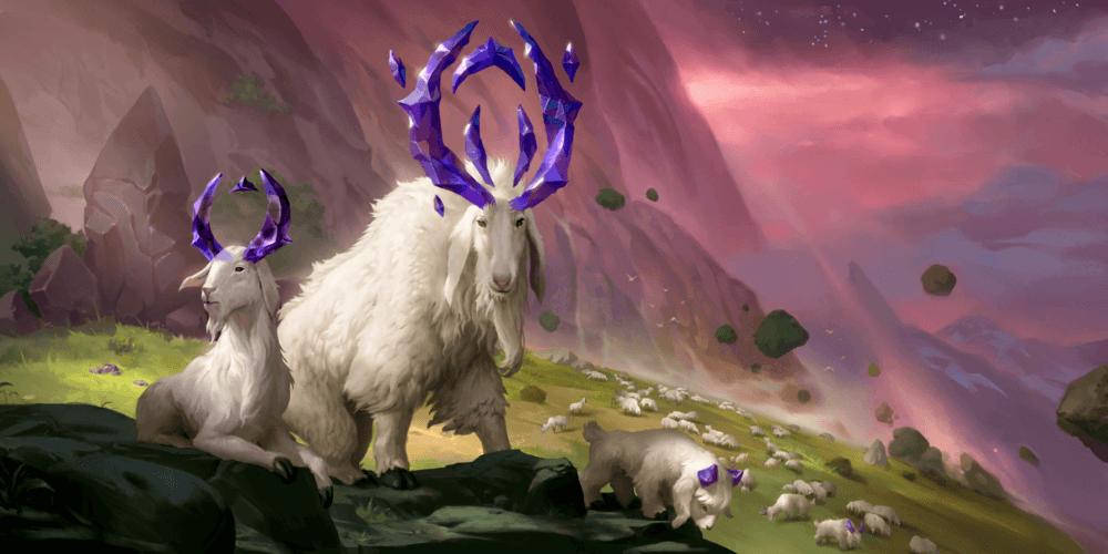 LoR Mountain Goat Artwork