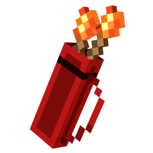 Flaming Quiver Minecraft Dungeons