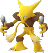 Pokemon Let's GO Alakazam