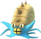 Pokemon Let's GO Omastar