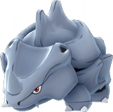 Pokemon Let's GO Rhyhorn