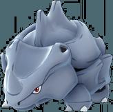 Pokemon Let's GO Rhyhorn