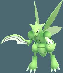 Pokemon Let's GO Scyther