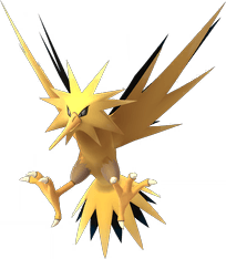 Pokemon Let's GO Zapdos