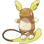 Pokemon Let's GO Alolan Raichu