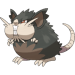 Pokemon Let's GO Alolan Raticate