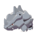 Pokemon Sword and Shield Rhyhorn