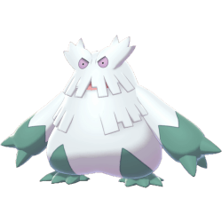 Pokemon Sword and Shield Abomasnow
