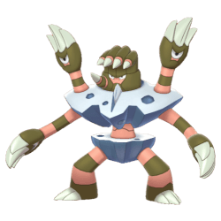 Pokemon Sword and Shield Barbaracle
