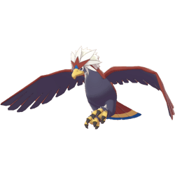Pokemon Sword and Shield Braviary