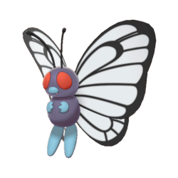 Pokemon Sword and Shield Butterfree