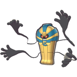 Pokemon Sword and Shield Cofagrigus