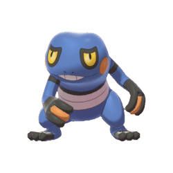 Pokemon Sword and Shield Croagunk