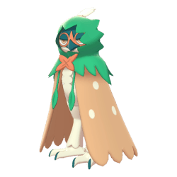 Pokemon Sword and Shield Decidueye