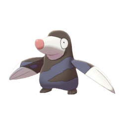 Pokemon Sword and Shield Drilbur