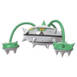 Pokemon Sword and Shield Ferrothorn