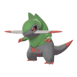 Pokemon Sword and Shield Fraxure