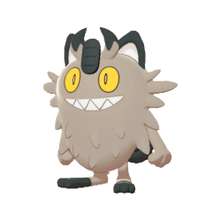 Pokemon Sword and Shield Galarian Meowth