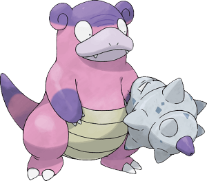 Pokemon Sword and Shield Galarian Slowbro