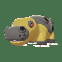 Pokemon Sword and Shield Hippowdon