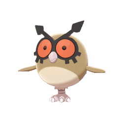 Pokemon Sword and Shield Hoothoot