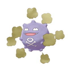 Pokemon Sword and Shield Koffing