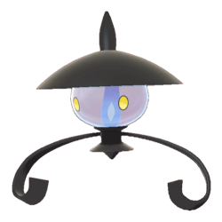 Pokemon Sword and Shield Lampent