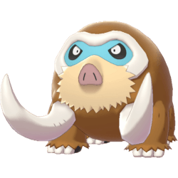 Pokemon Sword and Shield Mamoswine