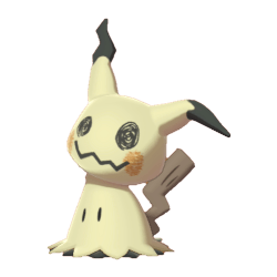 Pokemon Sword and Shield Mimikyu