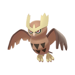 Pokemon Sword and Shield Noctowl